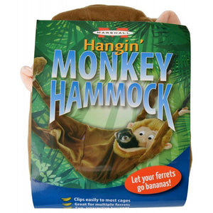 Marshall Hangin Monkey Hammock for Ferrets 1 Count - All Pets Store