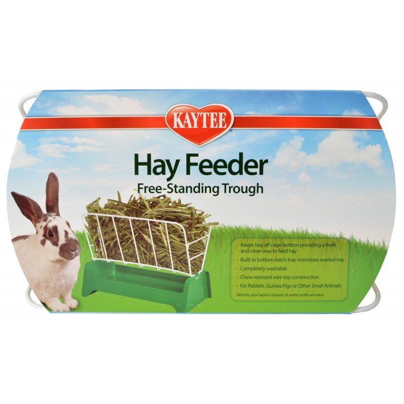Kaytee Hay Feeder Free-Standing Trough 1 Count - All Pets Store