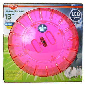 "Kaytee LED Run-About Ball 13"" Diameter - All Pets Store"