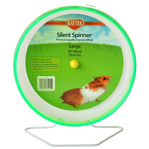 "Kaytee Silent Spinner Wheel Large (10"" Diameter) - All Pets Store"