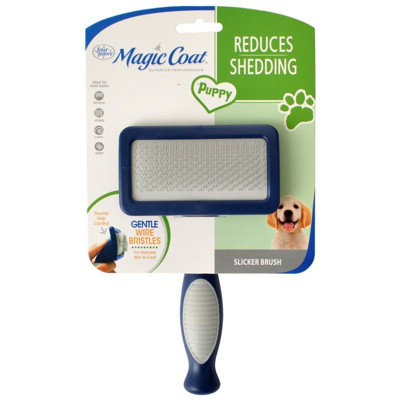 Magic Coat Puppy Gentle Slicker Brush 1 Count - All Pets Store