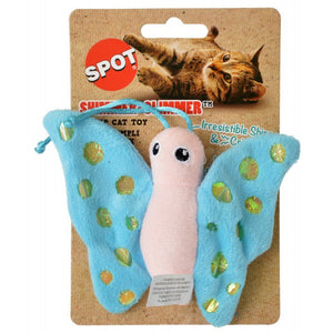 Spot Shimmer Glimmer Butterfly Catnip Toy - Assorted Colors 1 Count