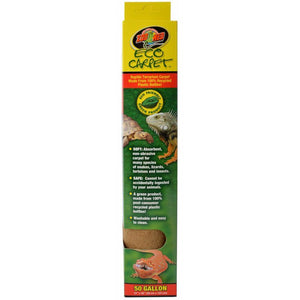 "Zoo Med Eco Carpet Reptile Carpet - Tan 50 Gallon (15"" x 48"") - All Pets Store"