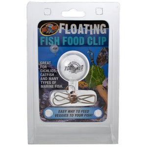 Zoo Med Floating Fish Food Clip 1 Count - All Pets Store