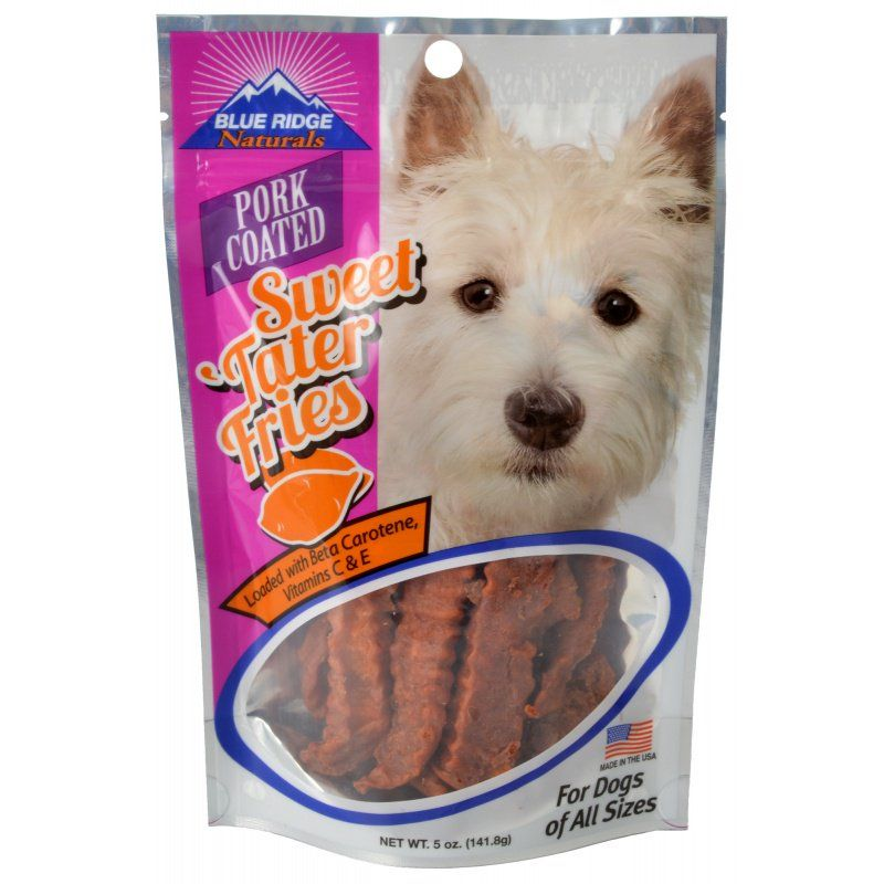Blue Ridge Naturals Pork Sweet Tater Fries 5 oz - All Pets Store