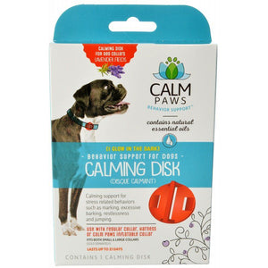 Calm Paws Calming Disk for Dog Collars 1 Count - All Pets Store