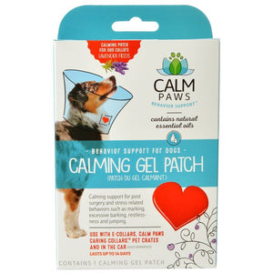 Calm Paws Calming Gel Patch for Dog Collars 1 Count - All Pets Store