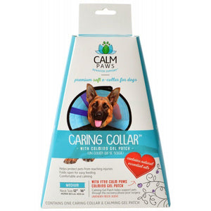 "Calm Paws Caring Collar with Calming Gel Patch for Dogs Medium - 1 Count - (Neck: 12""-16"") - All Pets Store"