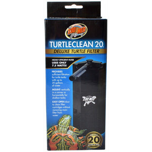 Zoo Med TurtleClean Deluxe Turtle Filter 20 Gallons - All Pets Store