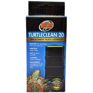 Zoo Med TurtleClean Replacement Filter Cartridge Medium - 1 Count - (20 Gallons) - All Pets Store