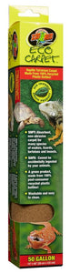 "Zoo Med Eco Carpet Reptile Carpet - Green 50 Gallon (15"" x 48"") - All Pets Store"