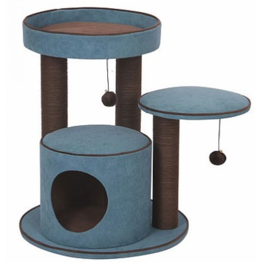 Pet Pals Meadows Cat Tree with Condo 1 Count - All Pets Store