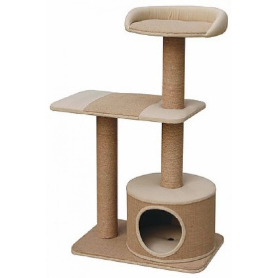 Pet Pals Pillar Cat Tree with Condo 1 Count - All Pets Store