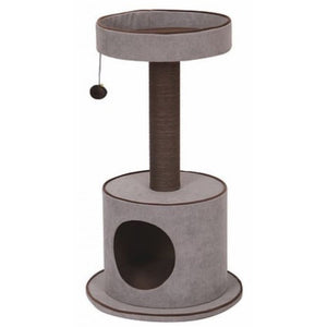 Pet Pals Steppe Cat Tree with Condo 1 Count - All Pets Store