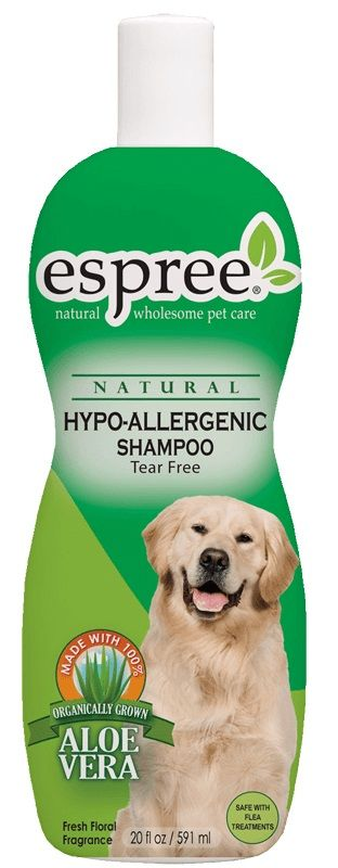 Espree Natural Hypo-Allergenic Shampoo Tear Free 20 oz - All Pets Store