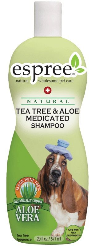 Espree Tea Tree & Aloe Medicated Shampoo 20 oz - All Pets Store