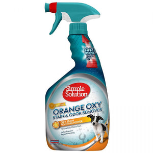 Simple Solution Orange Oxy Stain & Odor Remover 32 oz - All Pets Store