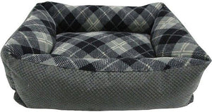 "Petmate Tartan Plaid Lounger - Assorted Colors 20""L x 15""W - All Pets Store"