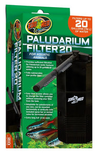 Zoo Med Paludarium Filter 20 Gallons - All Pets Store