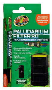 Zoo Med Paludarium Replacement Filter Cartridge 20 Gallons - All Pets Store