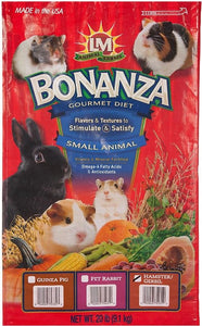 LM Animal Farms Bonanza Hamster & Gerbil Gourmet Diet 20 lbs - All Pets Store
