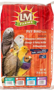 LM Animal Farms Large Parrot Diet 45 lbs - All Pets Store