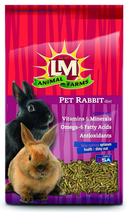 LM Animal Farms Pet Rabbit Diet 8 lbs - All Pets Store