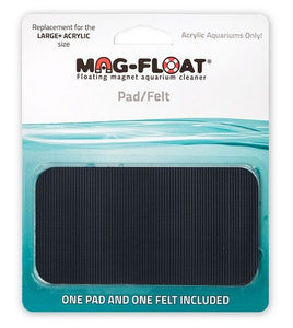 Mag Float Pad/Felt Replacement for Large+ Acrylic Cleaner 1 count - All Pets Store