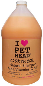Pet Head Oatmeal Natural Shampoo 1 gallon - All Pets Store