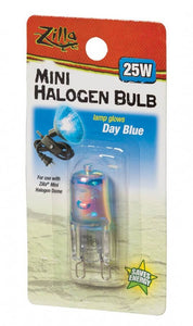 Zilla Mini Halogen Bulb - Day Blue 25W - All Pets Store