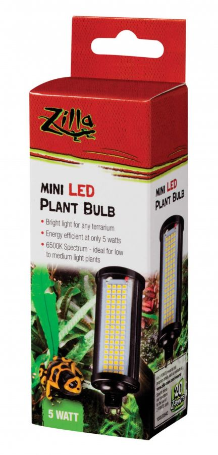 Zilla Mini LED Plant Bulb 5W - All Pets Store