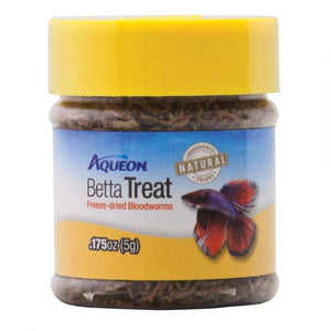 Aqueon Betta Treat Freeze Dried Bloodworms 0.175 oz - All Pets Store