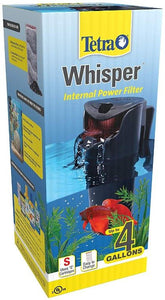 Tetra Whisper Internal Power Filter 4i (4 Gallons) - All Pets Store