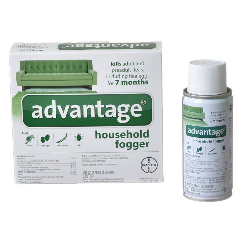 Advantage Household Fogger 3 Pack (3 x 2 oz) - All Pets Store
