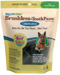 Ark Naturals Breath-Less Brushless Toothpaste Medium/Large Dogs (18 oz) - All Pets Store