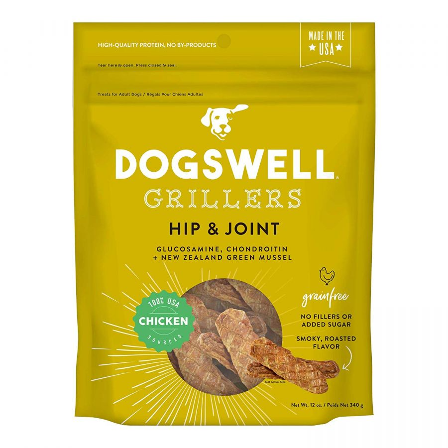 Dogswell Grillers Hip & Joint Dog Treats - Chicken 12 oz - All Pets Store