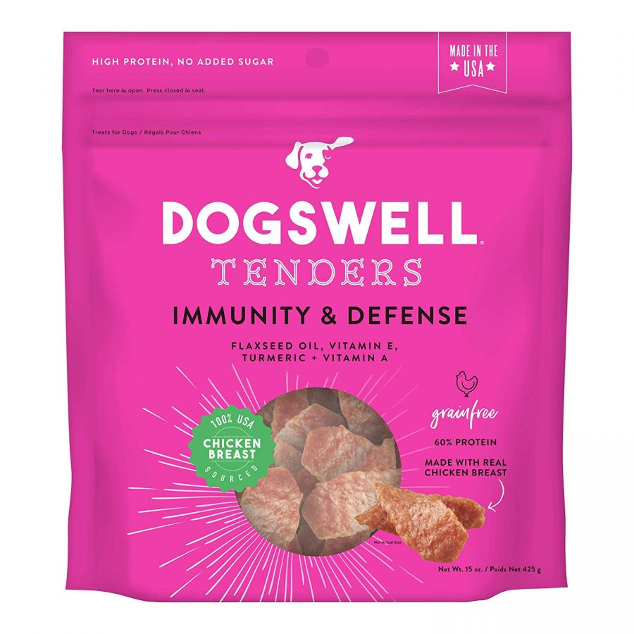 Dogswell Tenders Immunity & Defense Dog Treats - Chicken 15 oz - All Pets Store