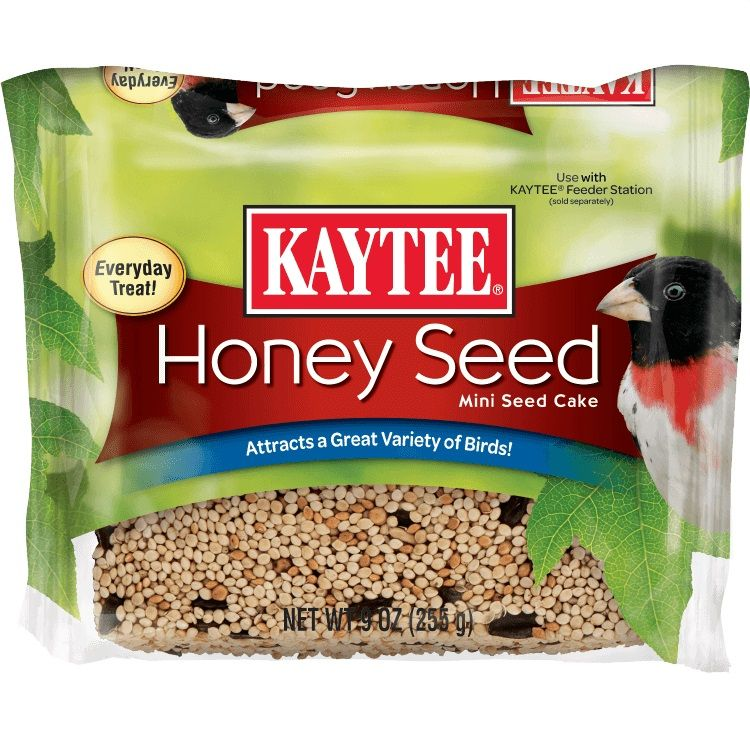 Kaytee Honey Seed Mini Seed Cake 9 oz - All Pets Store
