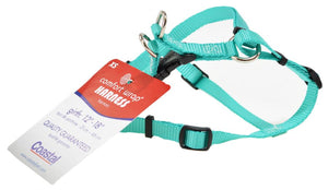 "Coastal Pet Teal Nylon Comfort Wrap Dog Harness 12-18""L x 3/8""W - All Pets Store"