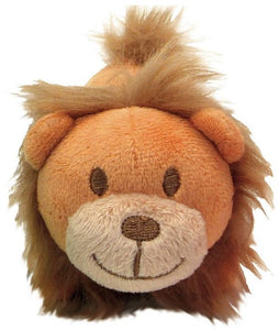"Li'l Pals Ultra Soft Plush Lion Squeaker Toy 1 count (4.5""L) - All Pets Store"