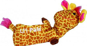 Li'l Pals Plush Crinkle Giraffe Toy 1 count (8.5''L) - All Pets Store