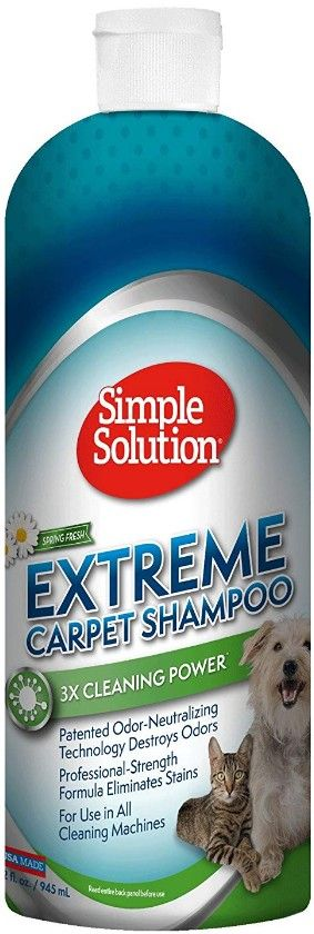 Brampton Simple Solution Extreme Carpet Shampoo 32 oz - All Pets Store