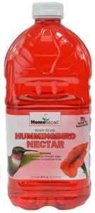 Homestead Hummingbird Red Ready to Use Liquid Nectar 1 count (64 oz) - All Pets Store