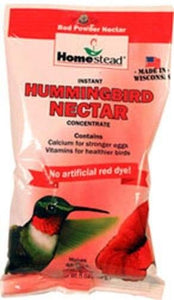 Homestead Hummingbird Natural Red Powder Nectar Concentrate 1 count (8 oz) - All Pets Store