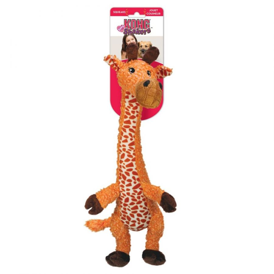 Kong Shakers Luvs Giraffe Dog Toy Large 1 count - All Pets Store