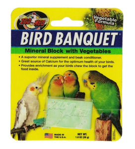 Zoo Med Bird Banquet Vegetable Block 1 count - All Pets Store