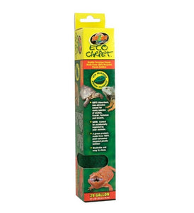 Zoo Med Eco Carpet 29 gallon (12 L?x 30 W?) - All Pets Store