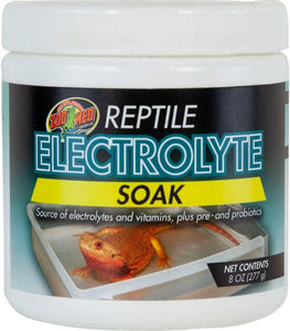 Zoo Med Reptile Electrolyte Soak 8 oz - All Pets Store