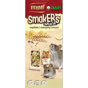 A&E Cage Company Smakers Cheese Sticks for Mice and Rats 2 count - All Pets Store