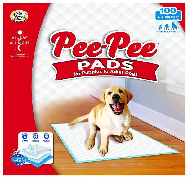 Four Paws Pee Pee Puppy Pads - Standard 100 count - All Pets Store